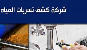 شركة كشف تسربات المياه بسيهات وعنك